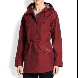 Canada goose rain trench coat jacket with hood